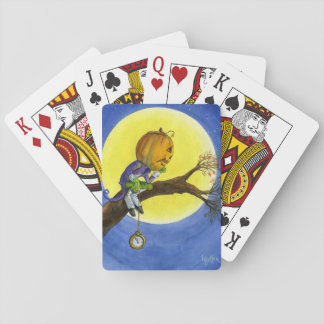 halloween classic playing cards