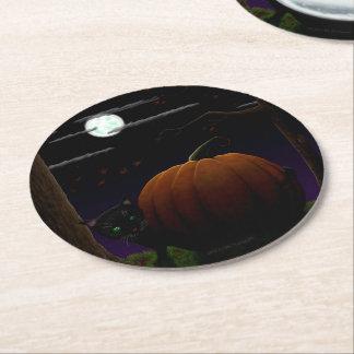 Halloween Coasters Round Paper Coaster