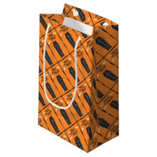 Halloween Coffin Gift Bag