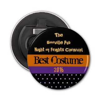 Halloween Contest Party Prize Bottle Opener