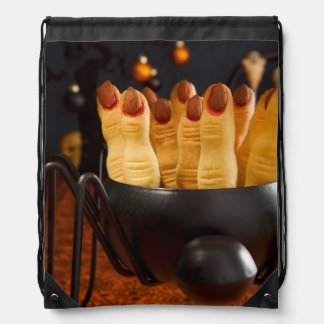 Halloween Cookies - Witch'S Fingers Drawstring Bags