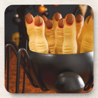 Halloween Cookies - Witch'S Fingers Drink Coaster