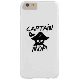 Halloween Costume Captain Mom Pirate Funny Barely There iPhone 6 Plus Case