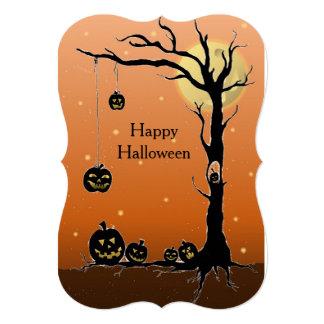 Halloween Costume Invitation or Celebration Card