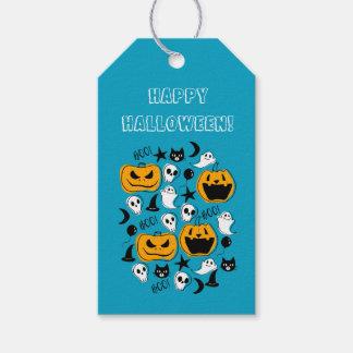 Halloween Creatures Illustration Gift Tags