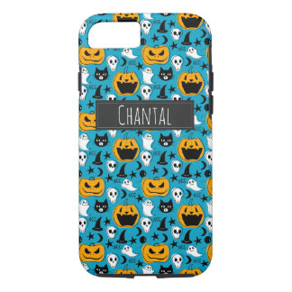 Halloween Creatures Illustration iPhone 8/7 Case