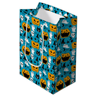 Halloween Creatures Illustration Medium Gift Bag