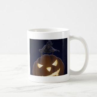 Halloween creepy night coffee mugs