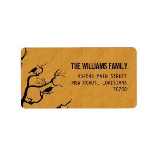 Halloween | Crows Address Label