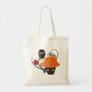 Halloween Cupcake Budget Tote Bag