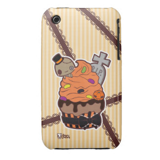 Halloween Cupcake iPhone 3 Case-Mate Cases