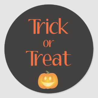 Halloween Cupcake Toppers/Sticker Round Sticker