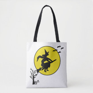 Halloween Custom All-Over-Print Tote Bag