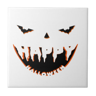 Halloween cute design ceramic tile