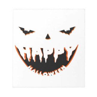 Halloween cute design notepad