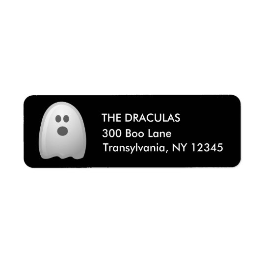 Halloween Cute Ghost Address Labels