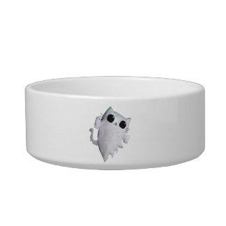 Halloween cute ghost cat pet bowls