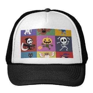 Halloween,cute,kids,pattern,children,fun,happy, Cap