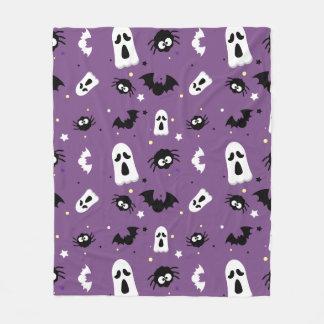 Halloween cute pattern fleece blanket