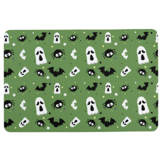 Halloween cute pattern floor mat
