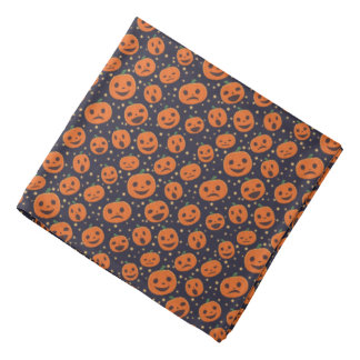 Halloween Cute Pumpkin Pattern Jack O Lantern Do-rag