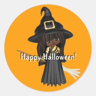 Halloween Cuties Sticker Round Sticker