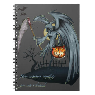 Halloween dead angel costume notebooks