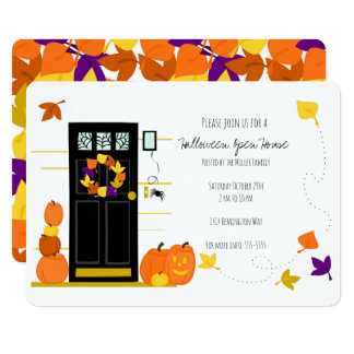 Halloween Decor Card