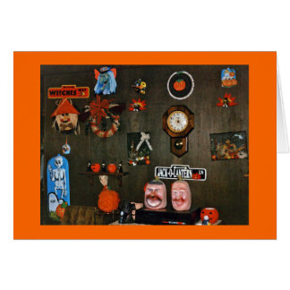 HALLOWEEN DECORATIONS 139 GREETING CARD