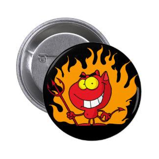 Halloween Devil Button Buttons