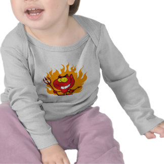 Halloween Devil Infant Long Sleeve T-shirt T-shirts