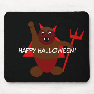 Halloween Devil Mouse Pad
