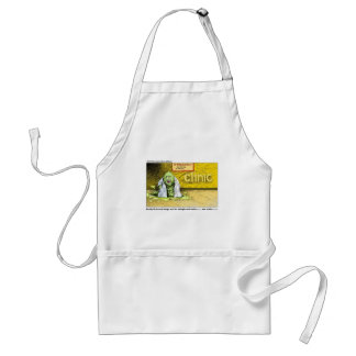 Halloween : Dr Leech Has No Clients Funny Gifts Standard Apron