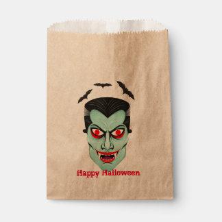 Dracula Halloween Party Favor Bags
