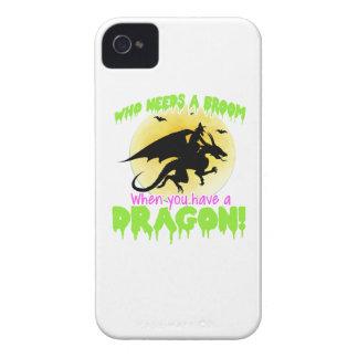 Halloween dragon tee iPhone 4 Case-Mate case