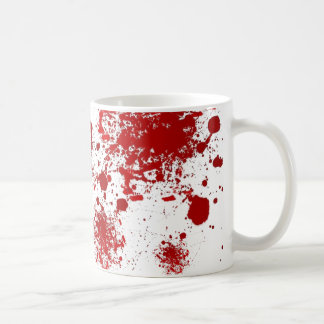 Halloween | Dripping Blood Splatters Pattern Coffee Mug
