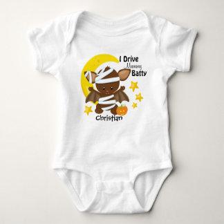 Halloween Drive Mummy Batty Baby Bodysuit