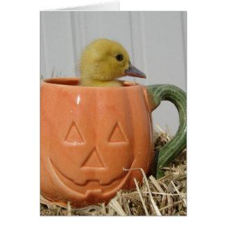 Halloween Duckling Card