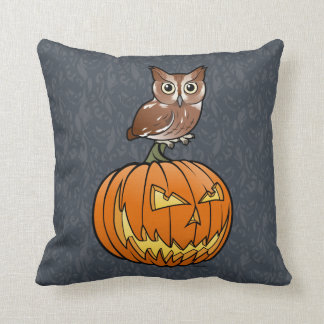 Halloween Eastern Screech Owl Cushion