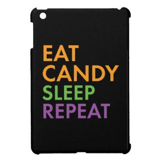 Halloween - Eat Candy, Sleep, Repeat - Novelty iPad Mini Covers