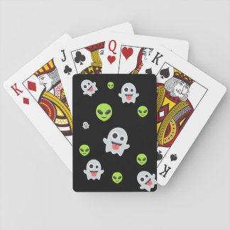 Halloween Emoji Playing Cards
