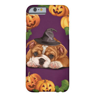 Halloween English Bulldog Barely There iPhone 6 Case