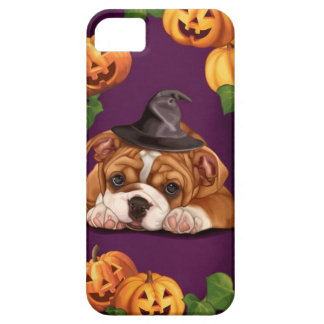 Halloween English Bulldog iPhone 5 Case