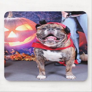 Halloween - English Bulldog - Spike Mouse Pads