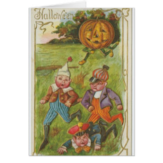 Halloween Excitement, Card