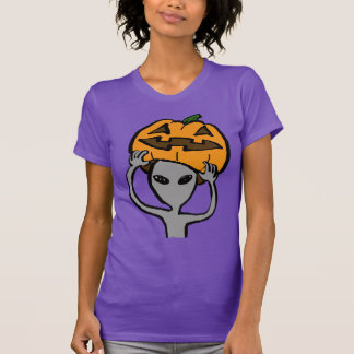 < Halloween extraterrestrial (both sides) Shirts