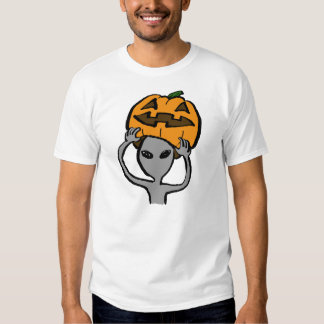 < Halloween extraterrestrial (both sides) T Shirt