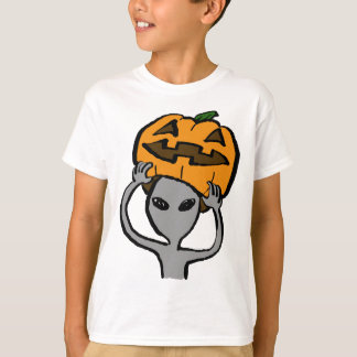 < Halloween extraterrestrial (both sides) Tees