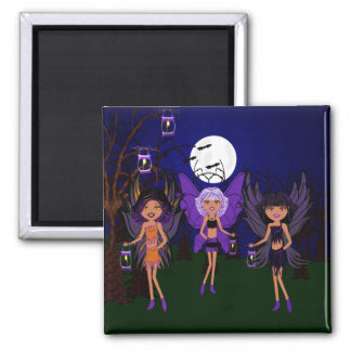 Halloween Faeries The Hallow Sisters Magnet