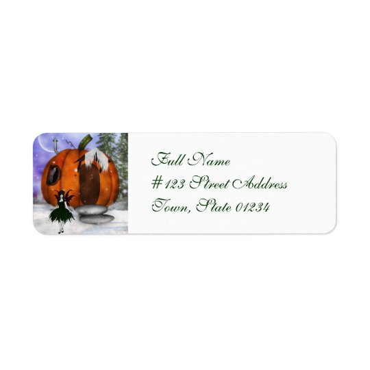Halloween Fairy  Mailing Labels